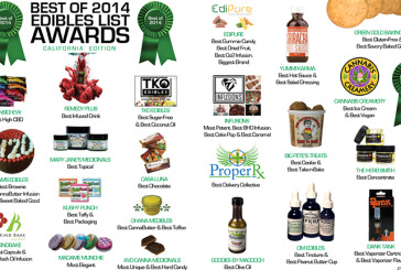 Best of 2014 Edibles List Awards