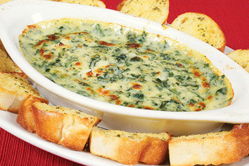 Infused Spinach Artichoke Dip