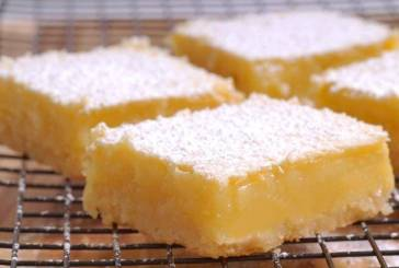 Quick and Easy Lemon Bars