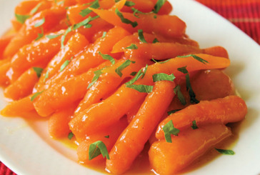 Infused Brown Sugar Carrots