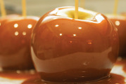 Medicated Caramel Candy Apples