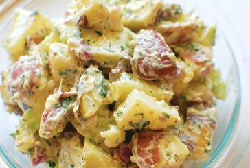 Medicated BBQ Potato Salad