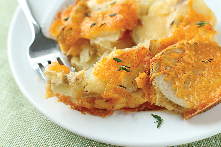 Cannabis Infused Irish Scalloped Potatoes
