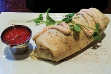 Infused Healthy Bhomb Breakfast Burrito