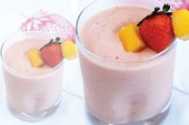 Infused Strawberry Mango-a-go-go Smoothie