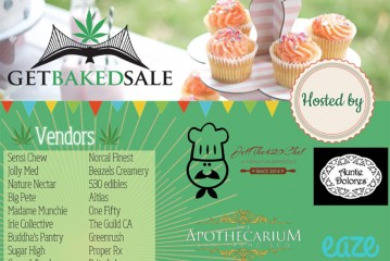 EVENT FEATURE: GET BAKED SALE