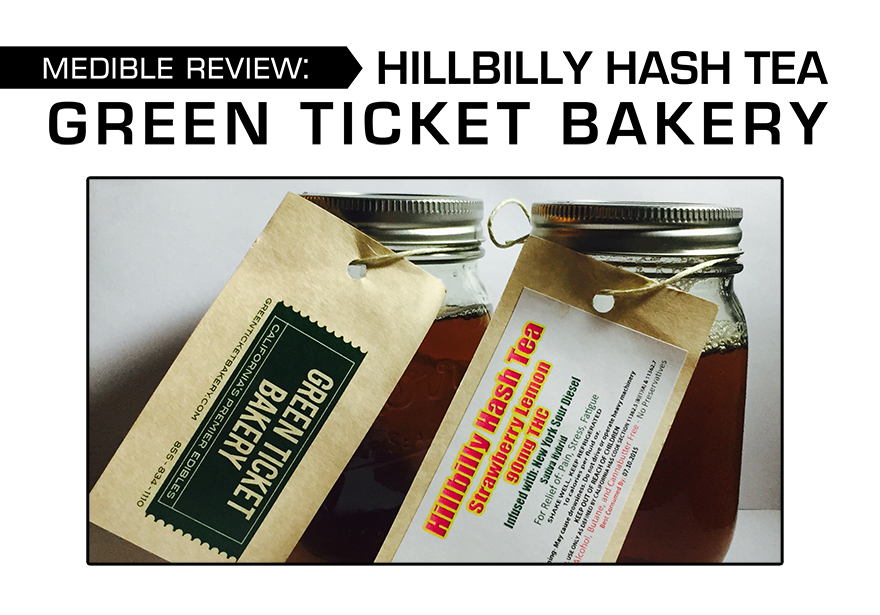 MEDIBLE REVIEW: GREEN TICKET BAKERY HILLBILLY HASH TEA