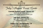 July / August Cannabis Event Guide