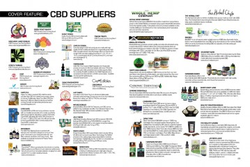 Cover Feature: CBD Suppliers List