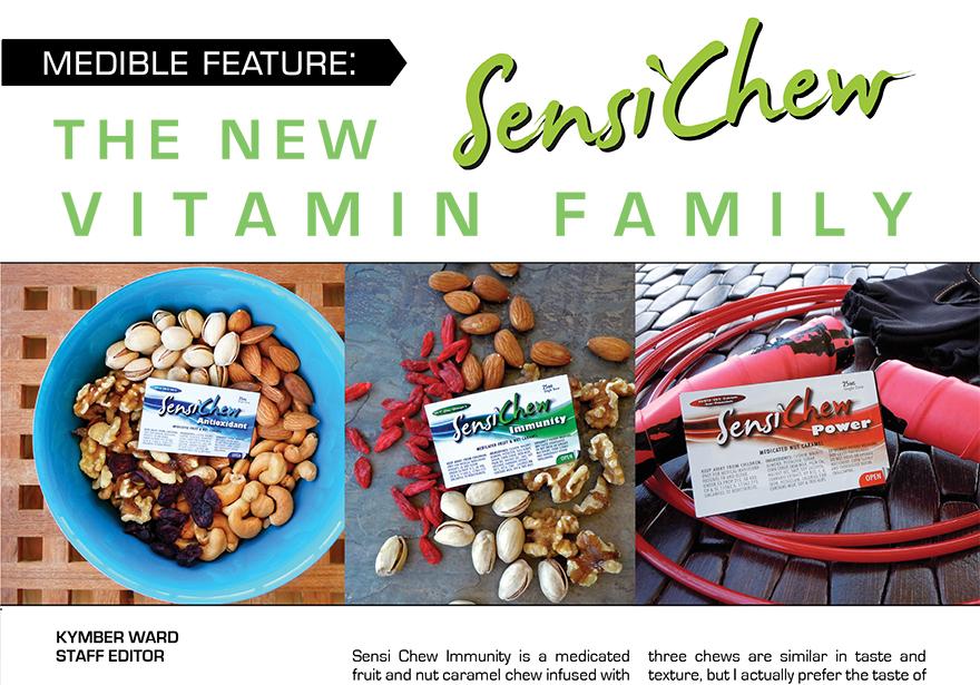 Medible Feature: The New SensiChew Vitamin Family
