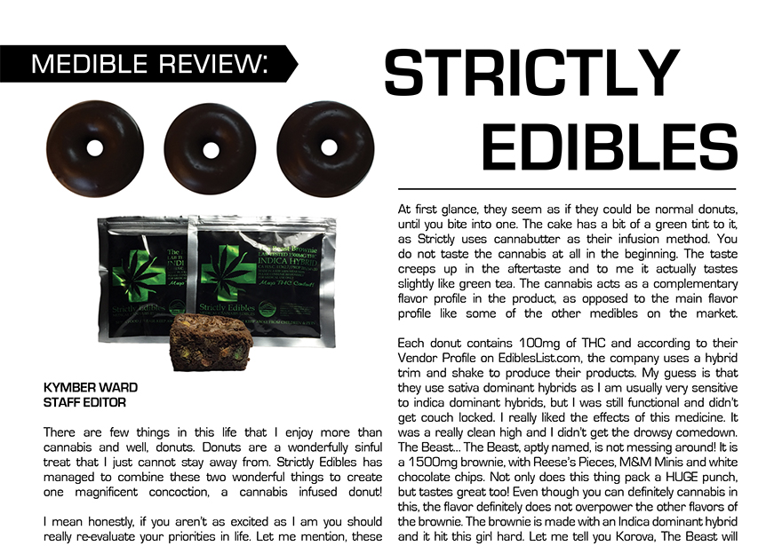 Medible Feature: Strictly Edibles