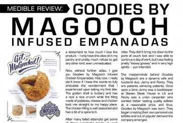 Medible Feature: Goodies by Magooch Infused Empanadas