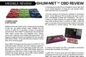 Medible Review: Shum-Met™ CBD Bars