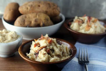 420 Caramelized Onion & Gorgonzola Mashed Potatoes