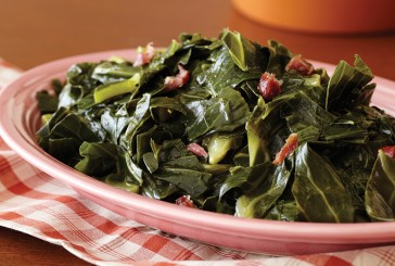 Infused Collard Greens with Red Onion