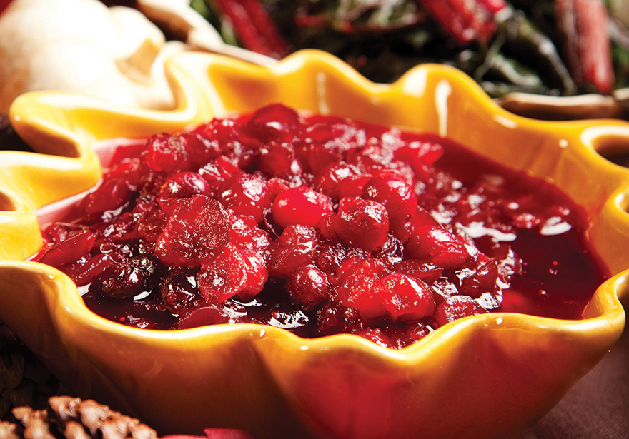 Mighty Captivating Canna Cranberry Sauce