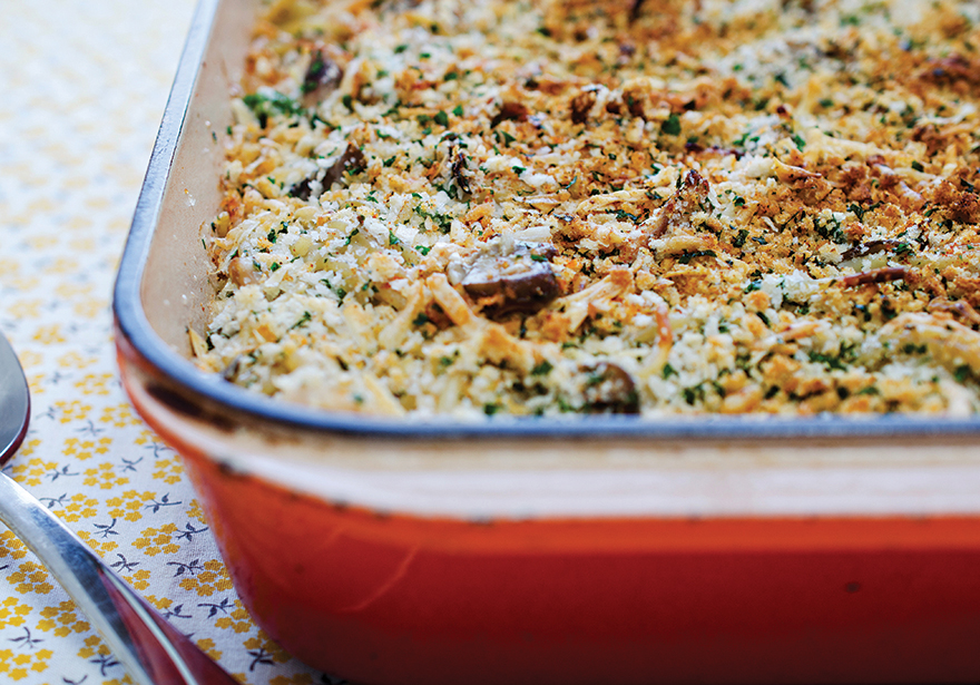 Medicated Thanksgiving Leftover Casserole Recipe