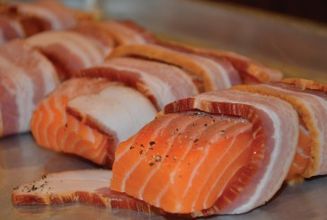 Medicated Recipes: Totally Medicated Bacon Wrapped Baked Salmon