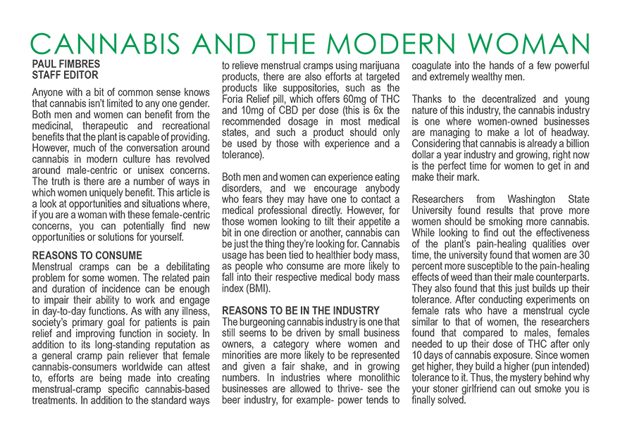 CANNABIS AND THE MODERN_WOMAN