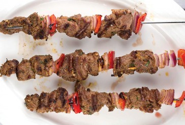 Flying High Infused Greek Lamb Kabobs