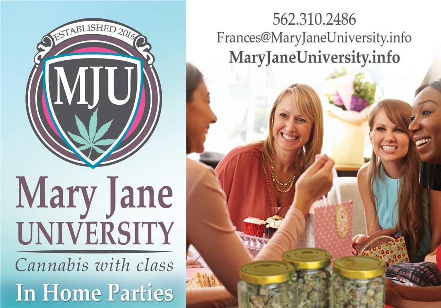 MARY JANE UNIVERSITY: CANNABIS EDUCATION