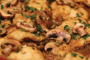 Cannabis Infused Chicken Marsala