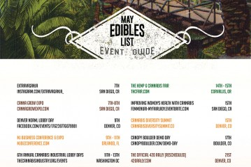 May 2016 Cannabis Event Guide