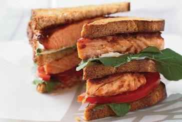 Medible Recipe: Smokin' Salmon Sandwich