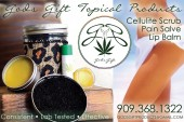 Topical Feature: God's Gift Balms & Cannabis Infused Cellulite Scrub