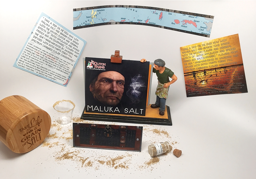 Maluka Salt: Cannabis Infused Salt by Dutch Farms