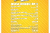 August Cannabis Event Guide