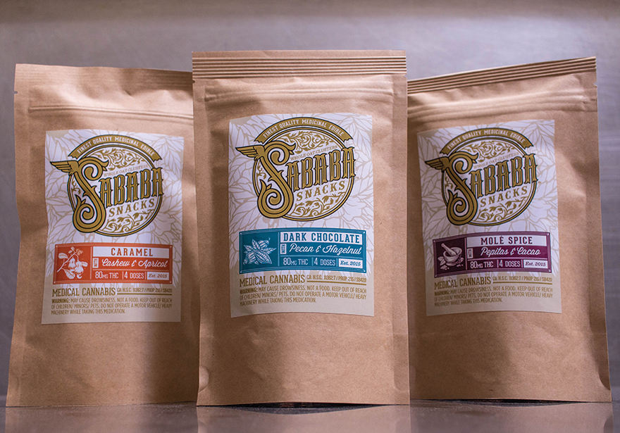 Sababa Cannabis Infused Snacks - Product Review Edibles List Magazine