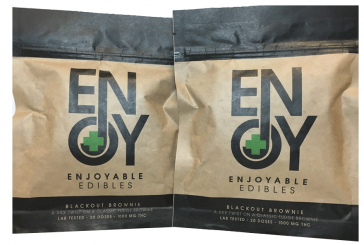 Edibles Review: Enjoyable Edibles Brownie