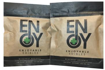 Edibles Review: Enjoyable Edibles Brownie