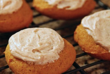 Medible Recipe: Infused Iced Pumpkin Cookies