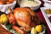 Baked Roasted Toasted Stuffed Turkey