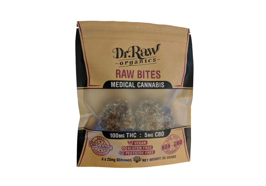 Dr. Raw Organics - Edibles List Magazine Review - Raw Bites