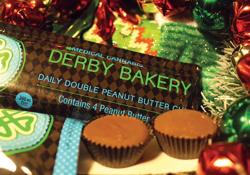 Derby_Bakery_Peanut_Butter_Cups_Holiday_Ganja_Gift_Guide_Edibles_Magazine