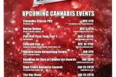 December Cannabis Event Guide