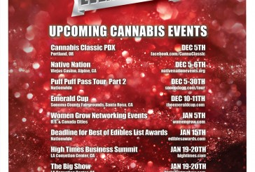 December Cannabis Event Guide