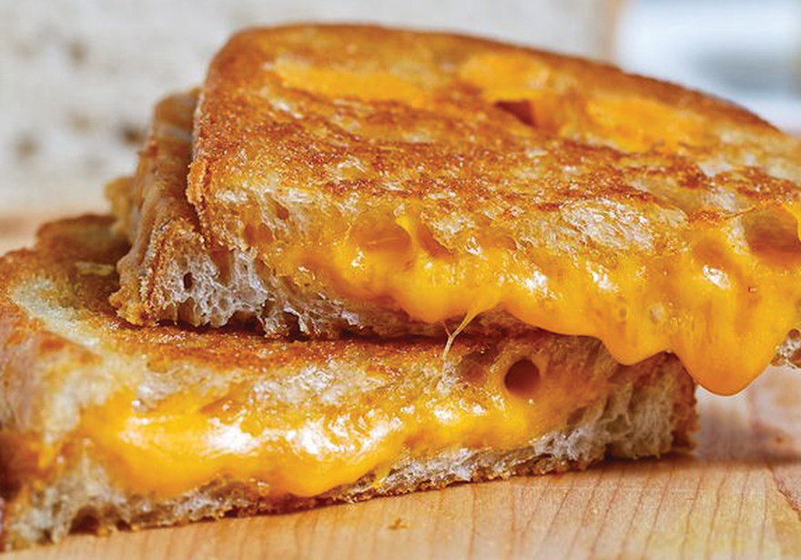 Infused Recipes: Fully Medicated Comfort Easy Grilled Cheese