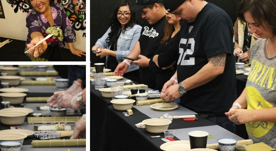 Sushi & Doobie Rolling Workshop & Dinner Party