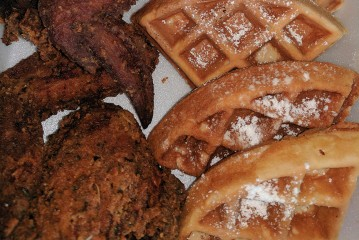 K-Town Infused Chicken & Waffles