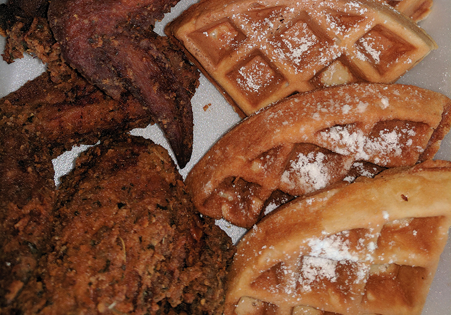 KoreaTown Collective Cannabis Infused Chicken and Waffles