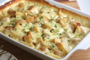 Au Gratin Canna Potatoes