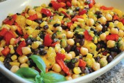 Infused Recipes: Sweet Canna Corn & Black Bean Salad
