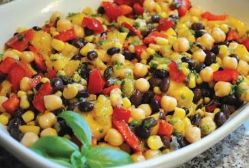 Infused Recipes: Sweet Canna Corn & Black Bean Salad