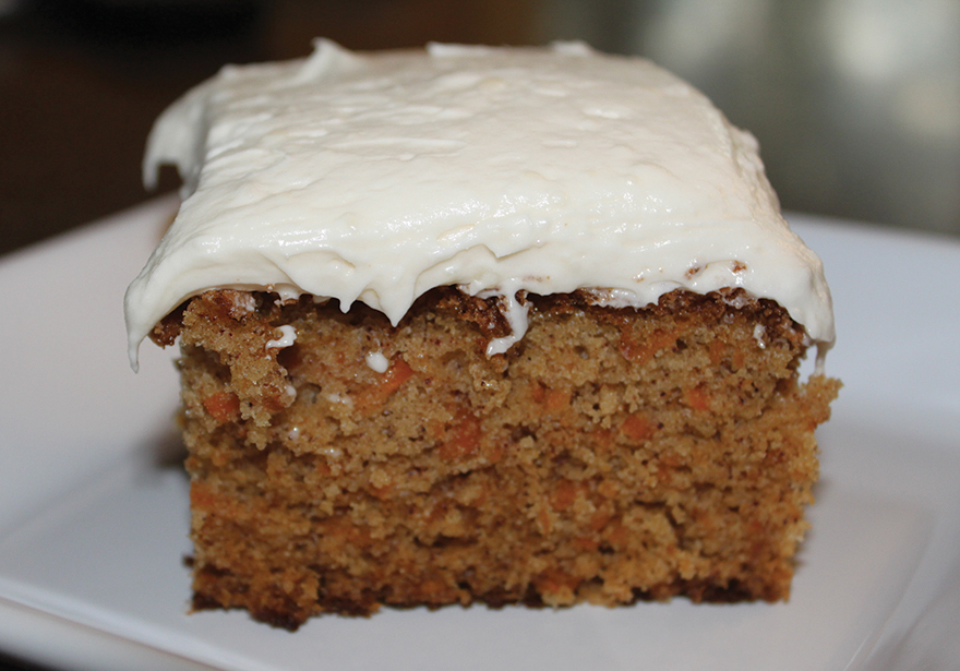 Cannabis Infused Carrot Cake