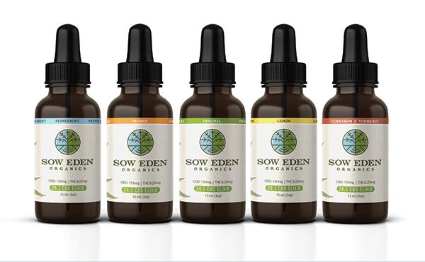 Sow Eden CBD Elixirs