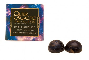 Outer Galactic Chocolate Dark Chocolate Truffles
